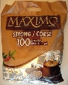 Maximo koffiepads strong met 100 pads