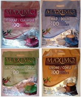 Maximo coffeepads with 100 pads