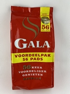 12 bags of Gala coffeepads with 56pads